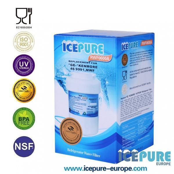 Grote foto hotpoint mwf waterfilter smartwater van icepure rwf0600a witgoed en apparatuur koelkasten en ijskasten