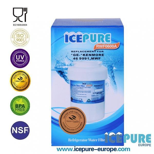Grote foto ge mwf waterfilter smartwater van icepure rwf0600a witgoed en apparatuur koelkasten en ijskasten