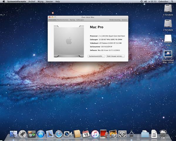 Grote foto te koop mac pro 2.1 ck7301cdy3p en ext.h.s. computers en software desktop pc