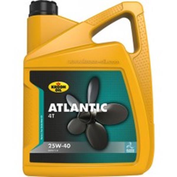 Grote foto kroon atlantic 4t 25w 40 5 liter watersport en boten accessoires en onderhoud