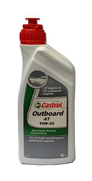 Grote foto castrol outboard 4t 10w30 1l watersport en boten accessoires en onderhoud
