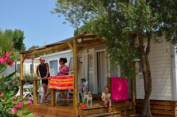 Grote foto huur een stacaravan in zuid frankrijk vakantie frankrijk