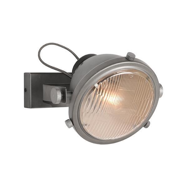 Grote foto label51 wandlamp tuk tuk burned steel huis en inrichting overige