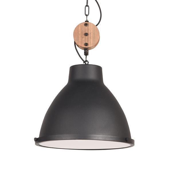 Grote foto label51 hanglamp dock zwart 42 cm huis en inrichting overige