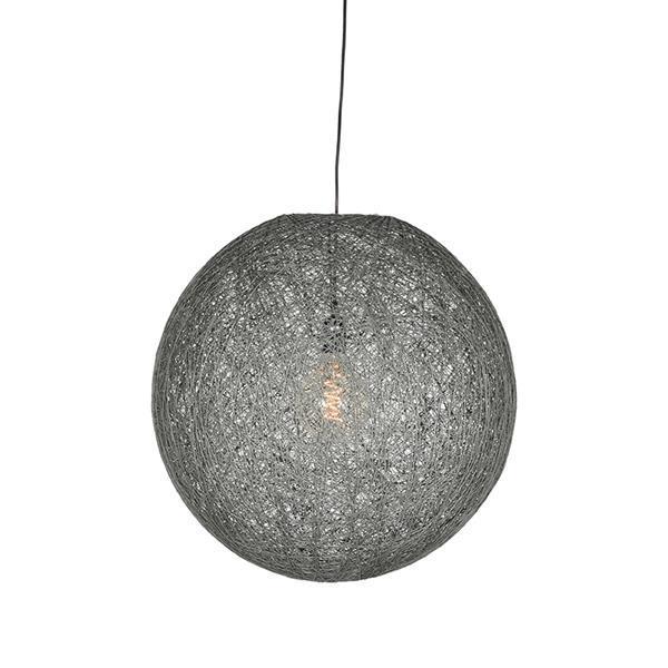 Grote foto label51 hanglamp twist grijs 45 cm l huis en inrichting overige