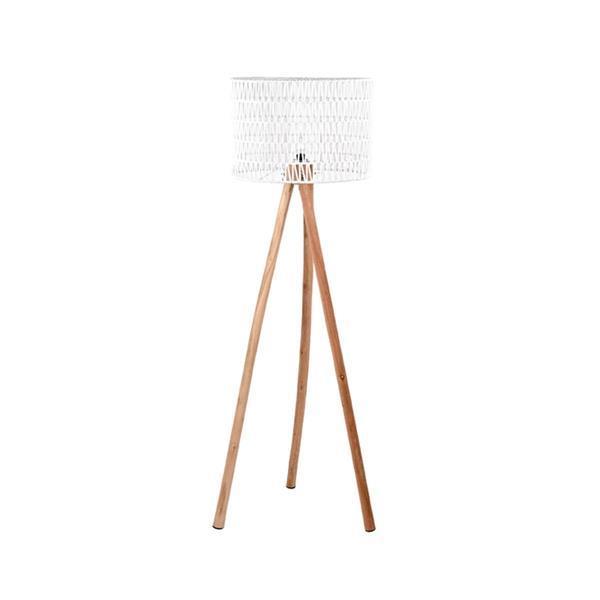 Grote foto label51 vloerlamp stripe wit 50 cm huis en inrichting overige
