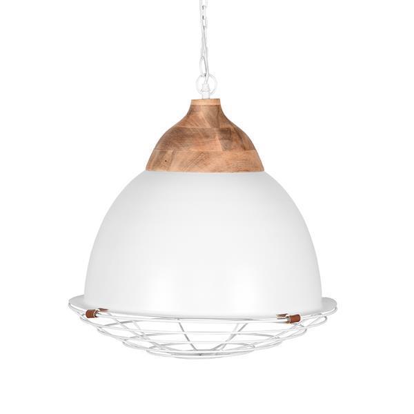 Grote foto label51 hanglamp rootz wit 50 cm huis en inrichting overige