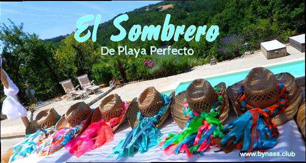 Grote foto sombreros de playa bynass ibiza beach hat sieraden tassen en uiterlijk overige