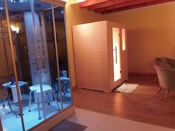 Grote foto vakantiehoeve voor 10 personen met sauna en bbq vakantie belgi