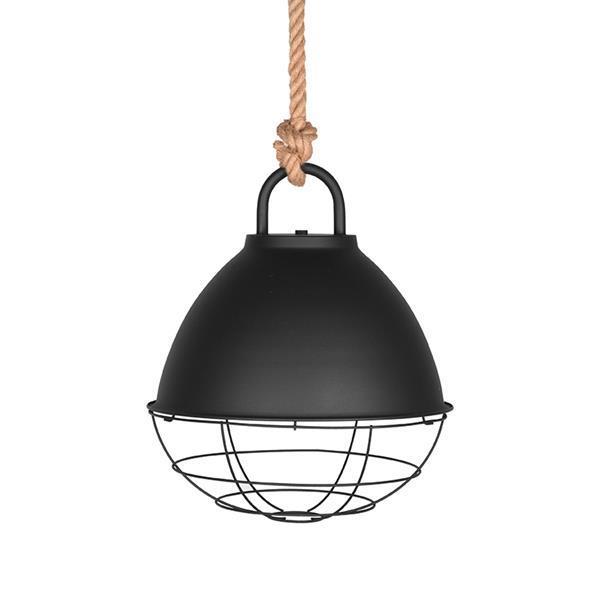 Grote foto label51 hanglamp korf m zwart huis en inrichting overige