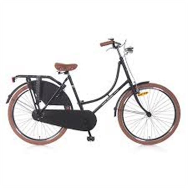 Grote foto goede popal oma damesfiets met voorrek fietsen en brommers damesfietsen