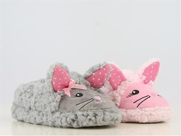Grote foto sale 40 pantoffels muis grijs maat 28 t m 35 kinderen en baby schoenen voor meisjes
