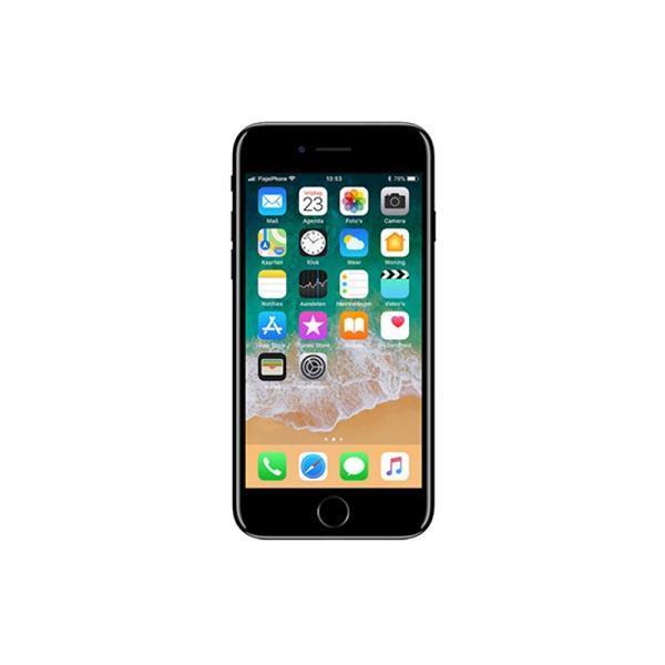 Grote foto iphone 7 jet black verkrijgbaar vanaf telecommunicatie apple iphone