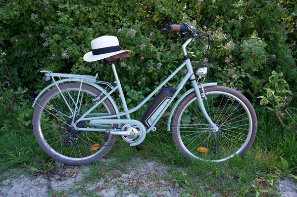 Grote foto elektrische fiets beveiligen fietsen en brommers algemeen