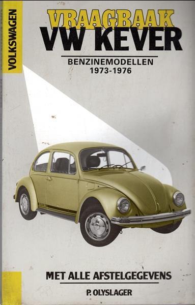 Grote foto vraagbaak vw kever benzinemodellen 1973 1976 boeken auto handleidingen