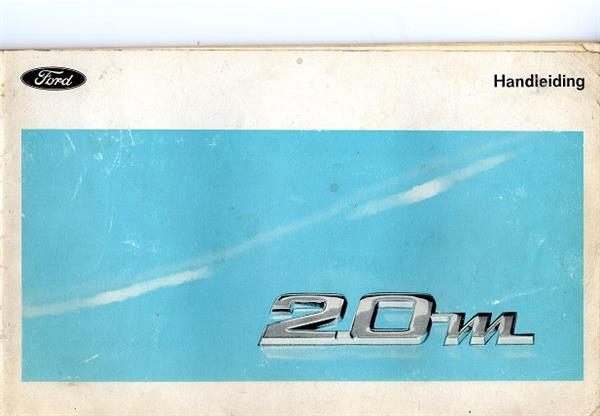 Grote foto handleiding ford 20m 1968 boeken auto handleidingen