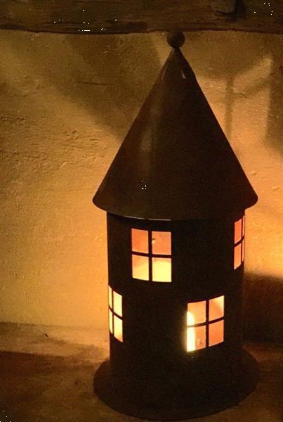 Grote foto vuurtoren patina antieke look lantaarn lantaarns voor de b diversen overige diversen