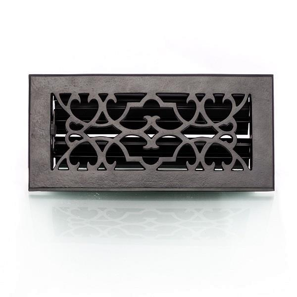 Grote foto verstelbaar luchtrooster ventilatierooster voor een oven of huis en inrichting kachels en openhaarden