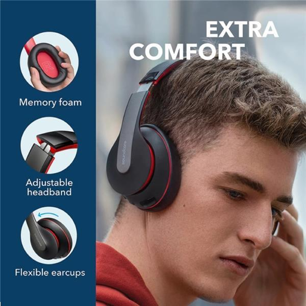 Grote foto soundcore q10 draadloze koptelefoon bluetooth wireless headp audio tv en foto koptelefoons