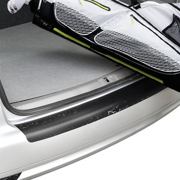 Grote foto in.tec bumperbescherming folie vw golf sportsvan grijs auto onderdelen accessoire delen