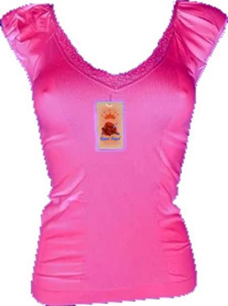 Grote foto sweet angel naadloos dames shirt in verschillende kleuren fu kleding heren ondergoed