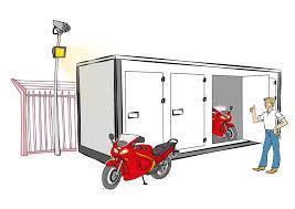 Grote foto motorstalling huren salland storage diensten en vakmensen verhuizers en opslag