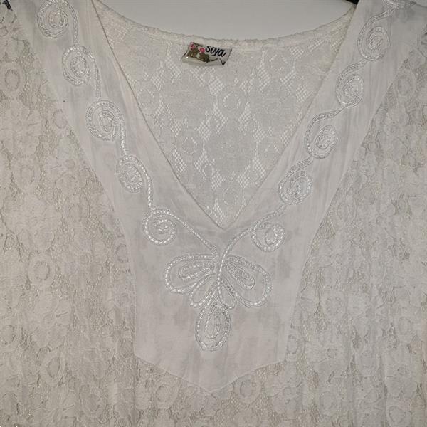 Grote foto 100 katoenen long shirt van siya maat xl kleding dames overige kledingstukken