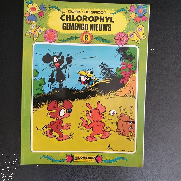 Grote foto chlorophyl gemengd nieuws deel 8 boeken stripboeken