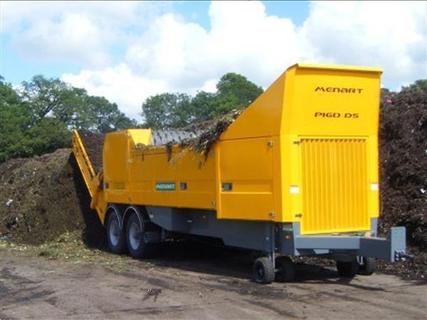 Grote foto menart p 160 ds diesel motor aangedreven doe het zelf en verbouw afvalverwerking