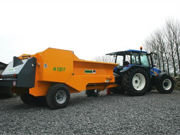 Grote foto menart h 121 t tractor aangedreven doe het zelf en verbouw afvalverwerking