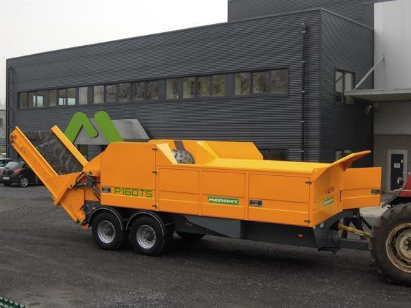 Grote foto menart p 145 ts tractor aangedreven doe het zelf en verbouw afvalverwerking