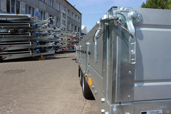 Grote foto gemakbak machinetransport gemakbak agrarisch aanhangwagens