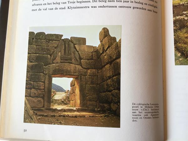 Grote foto griekenland prachtig land met hun historisch oude boeken reisverhalen