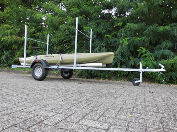 Grote foto 51. kanotrailer voor 2 kano watersport en boten boottrailers
