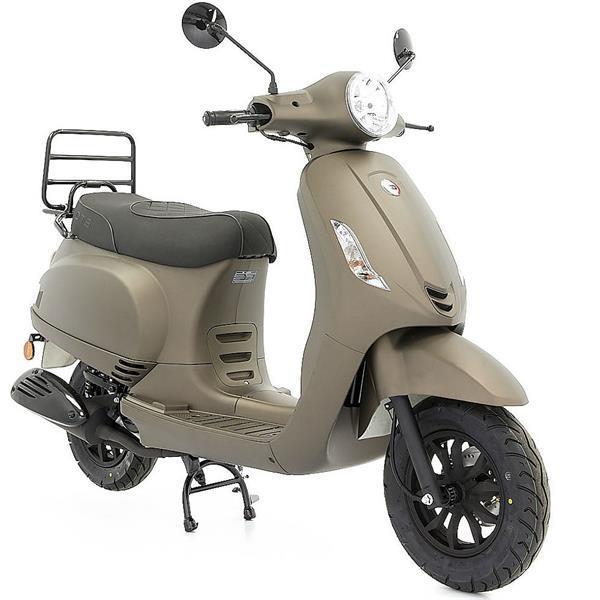 Grote foto dts milano r mat titanium bij central scooters kopen 1099 fietsen en brommers scooters