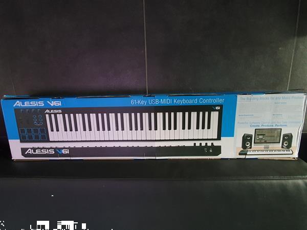 Grote foto te koop alesis v61 usb midi controller muziek en instrumenten keyboards