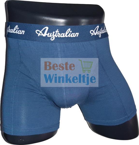 Grote foto 2x australian heren boxers xl maat 54 kleding heren ondergoed