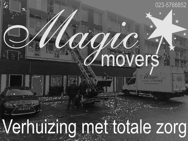 Grote foto magic movers verhuizen en opslag met passie diensten en vakmensen verhuizingen
