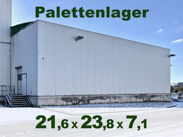 Grote foto gebruikte bedrijfsloods 1019qm bedrijfspanden opslagruimte te koop