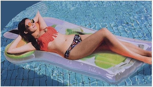 Grote foto luchtbed mojito 170 cm outledje kinderen en baby zwembaden en zandbakken