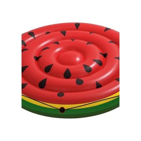 Grote foto luchtbed watermeloen 188cm alleen deze week 10 extra kor kinderen en baby zwembaden en zandbakken