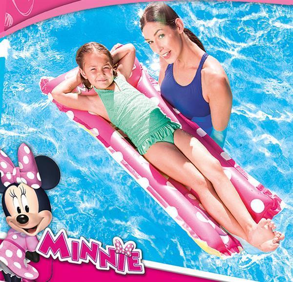 Grote foto luchtbed minnie 119x61cm outledje kinderen en baby zwembaden en zandbakken