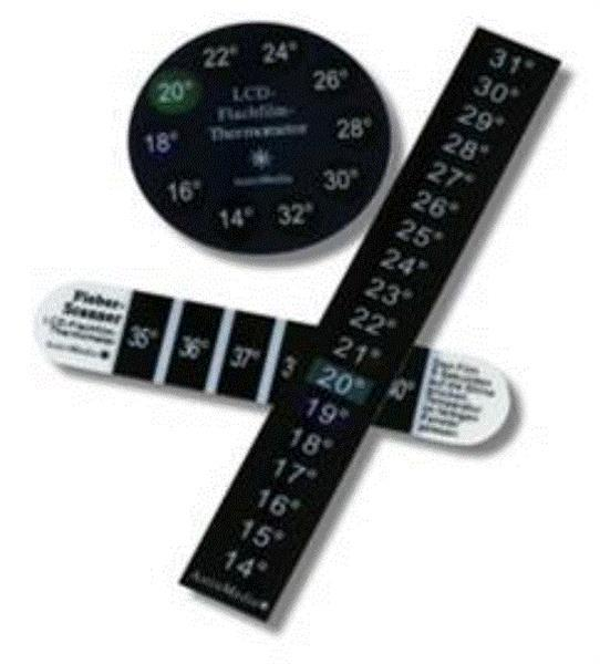 Grote foto set lcd strip thermometers verzamelen overige verzamelingen