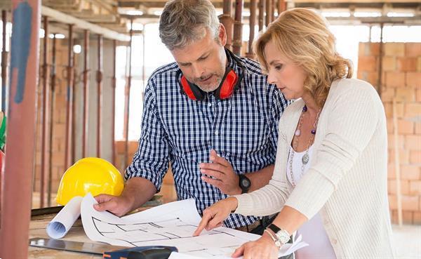 Grote foto gebouw bouw en renovatie van woningen diensten en vakmensen bouw en reparatie