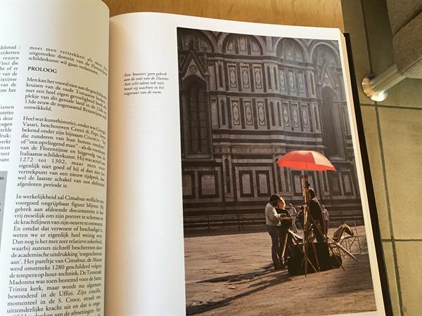 Grote foto firenze is om u te bekoren een prachtige sta boeken reisverhalen