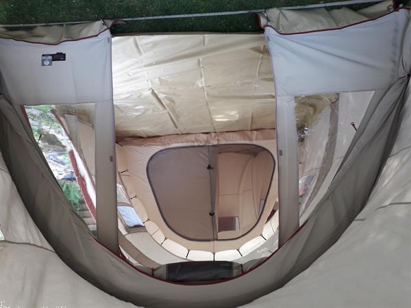 Grote foto brixen cotton tunneltent 4 tot 6 personen caravans en kamperen tenten