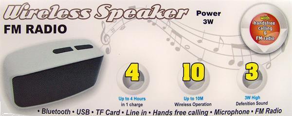 Grote foto compacte bluetooth speaker met radio alleen deze week 10 e muziek en instrumenten speakers