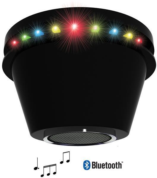 Grote foto bluetooth speaker met discolicht alleen deze week 25 extra muziek en instrumenten speakers