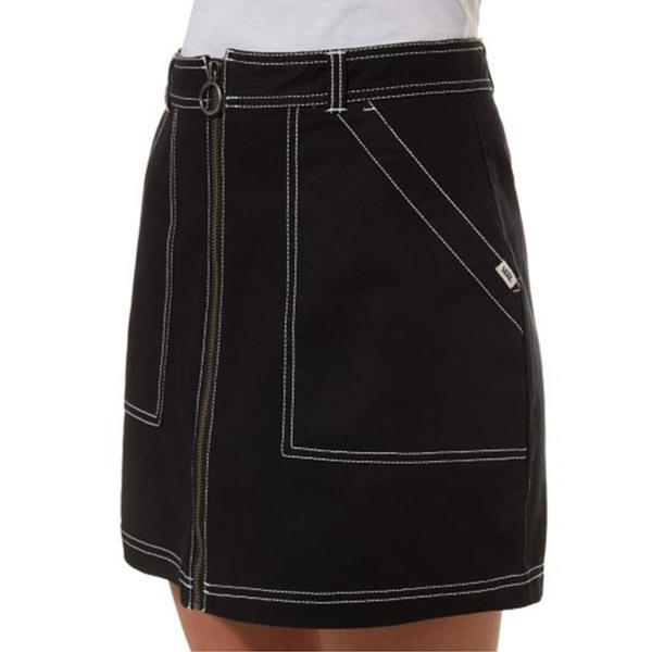 Grote foto vans in the know rok zwart kledingmaat s kleding dames overige kledingstukken