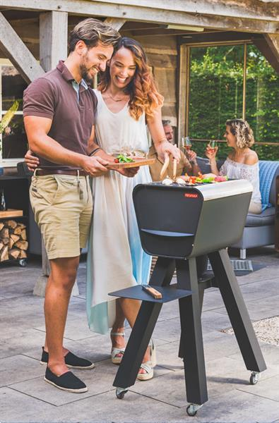 Grote foto qrib incl. gripper grillplates white tuin en terras buitenkeukens